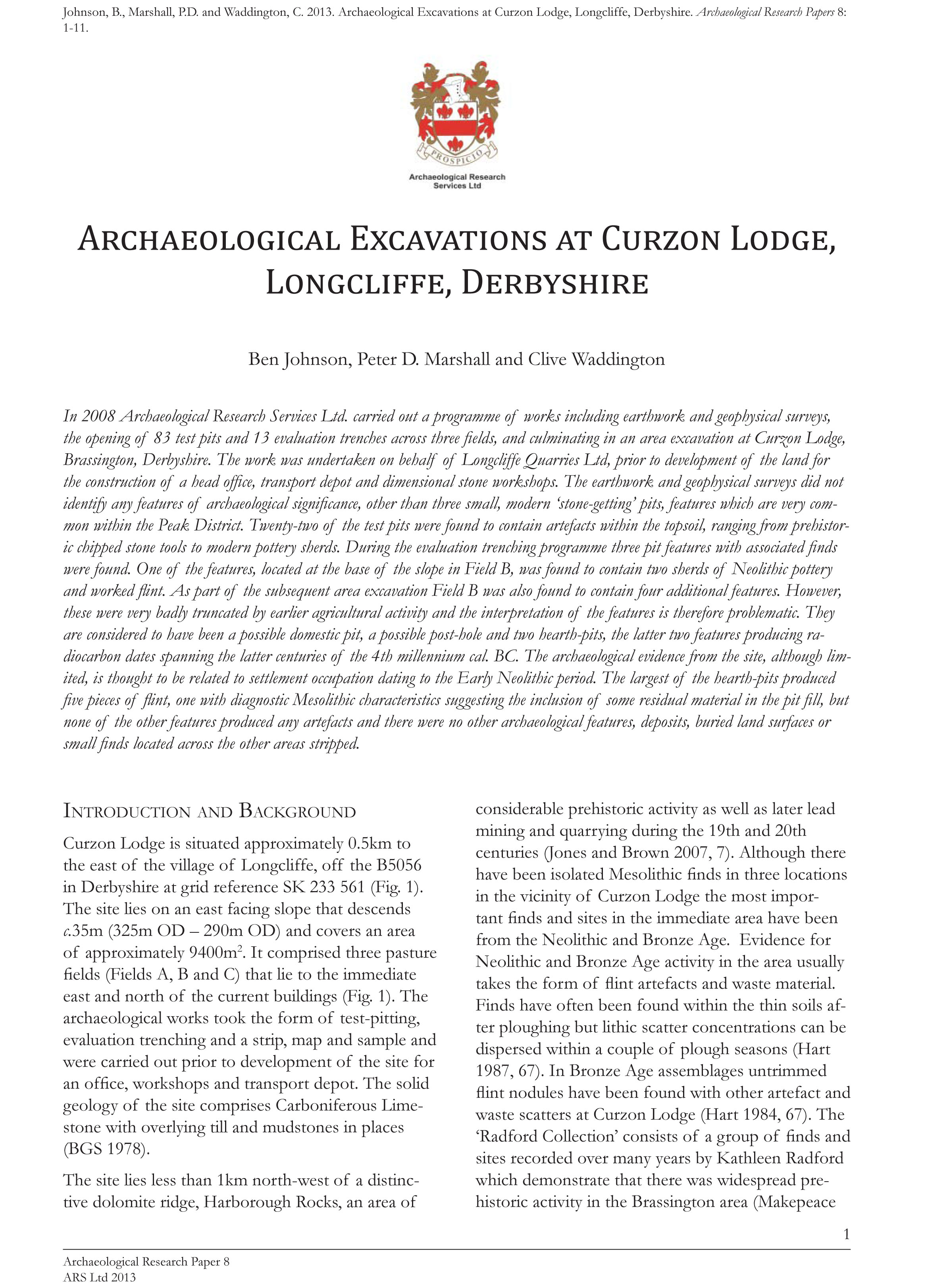 research paper archaeologist