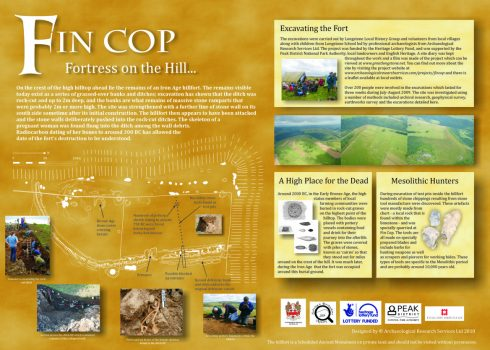 Fin Cop information panel. Rescued from the Sea information panel. © Copyright ARS Ltd 2018