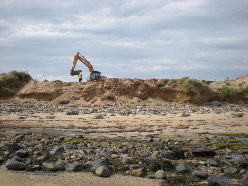 Rescued from the Sea - Archaeological research services ltd