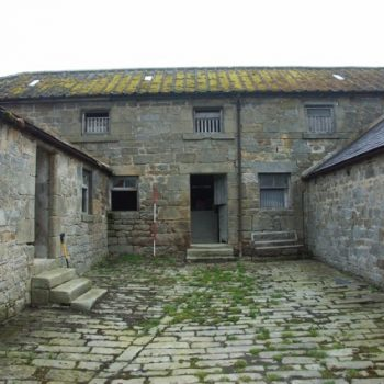 Part of a range of farm buildings that were surveyed prior to development. © Copyright ARS Ltd 2018