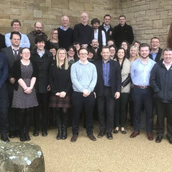 The ARS Ltd team at one of our training events at 'The Sill' next to Hadrian's Wall, Winter 2018. © Copyright ARS Ltd 2018