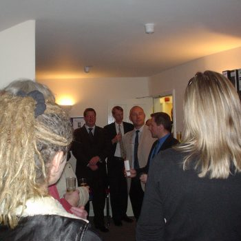 The opening of our Bakewell office in January 2005.