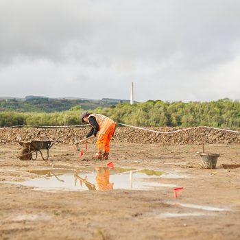 Excavations at Hope Shale Quarry