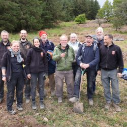 The team of ARS Ltd. staff and volunteers who worked on the excavation