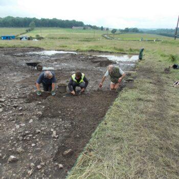 Bakewell Crosses Hassop Roundabout Excavation